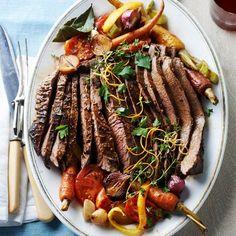 easter dinner, orang peel, beef brisket, tomato, food, magazin, gingers, cake recipes, meat dinners