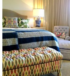 pattern, bed, tuft bench