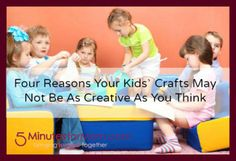 Exactly!! It drove me crazy to go into the kindergarten classroom and see 24 nearly identical ladybug/butterfly/flower/etc crafts on the wall.
