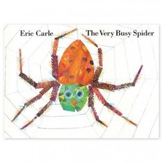The Very Busy Spider (Board Book) what is it about Carle illustrations I live so much?