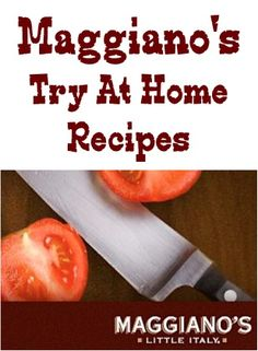 Maggiano's Little Italy: 78+ Recipes to try at home! {you'll love adding these fun restaurant copycat recipes to your menu!} #recipe