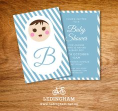 Baby Shower or Christening Invitations (DIY Printables).