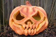 pumpkinproject45 papier mache pumpkin tutorial