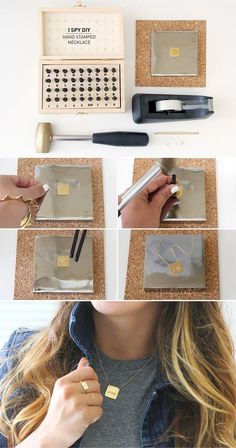 I Spy DIY: ASK THE EXPERT   HAND STAMPED JEWELRY