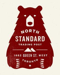 #design #branding #brand #identity #logo #north #standard #bear