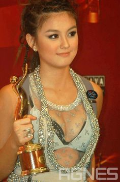 Agnes Monica.She's b'come the most-awarded Indonesia singer.[69] Notable awards she has won include ten Anugerah Musik Indonesia, seven Panasonic Awards, and four MTV Indonesia Awards. She has also received many international awards, including an Anugerah Planet Muzik award and two Best Asian Artist Awards. For her contribution and support to Indonesian music, she was given the 2011 award from The Minister of Culture and Tourism and Association of Indonesia Music, Planets, Mtv, Artists, Agn Monica, Indonesia Intert, Helo Agn, Musik Indonesia, Indonesian Celeb