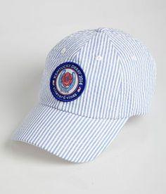 Rose Horseshoe Seersucker Hat
