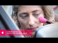 na correria: tutorial de maquiagem simples com sombra beginha e batom cereja berê, pra quem está com pressa de ficar bonita.  #sombra #bege #batom #cereja