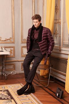 Balmain Fall 2013 Menswear Collection