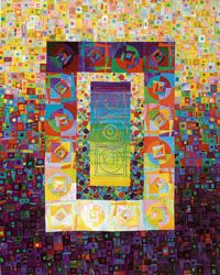 Art quilt by Carol Taylor