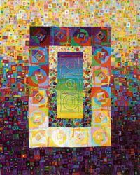Art quilt by Carol Taylor