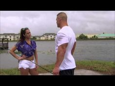 "Nikki Bella and John Cena reenact a scene from ""The Notebook."" #WWE"