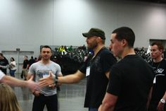 Randy Couture at the Arnold Sports Festival.