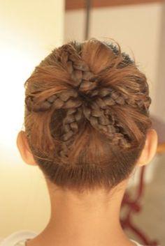 Cute Idea for little girls hair!
