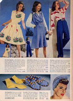 1942 Montgomery Ward Summer Catalog