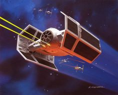 Concept art by Ralph McQuarrie