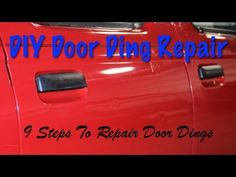 DIY Door Ding Repair Tips