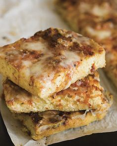 Double-Cheese Focaccia from The Joy of Gluten-Free, Sugar-Free Baking by Peter Reinhart and Denene Wallace