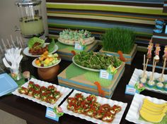 Jungle Baby Shower Food