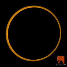 Annular Solar Eclipse, May 20, 2012 |  Courtesy - SLOOH SpaceCamera