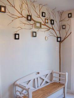 Creative tree wall decor ideas