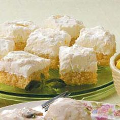 Pineapple Orange Cake - This is my favorite for summer time!  Make sure to fold in whip cream.