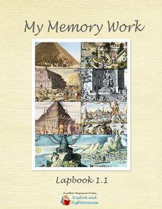 Classical Conversations memory lapbooks