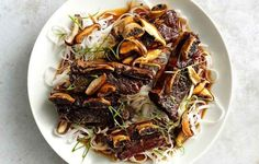 Soy-Braised Short Ribs with Shiitakes   31 Delicious Things To Cook In December
