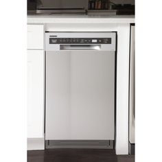 "Kucht Professional 18"" 46 dBA Built-In Full Console Dishwasher 