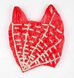 Josh Blackwell embroidered plastic bags