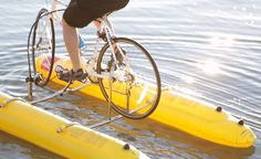 baycycle project makes water biking possible