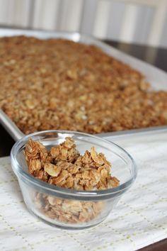 Healthy Homemade Granola - easy and versatile recipe jordan bromley, granola recip