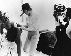 Kubrick, the girl and the clockwork orange. You're behind the scene of a masterpiece. http://www.imdb.fr/name/nm0000040/