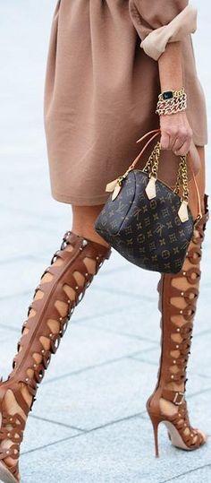 street style ♥✤ | KeepSmiling | BeStayClassy   Louis Vuitton