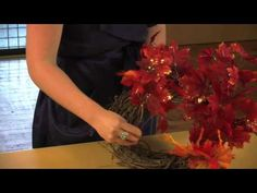 How to Make A Fall Wreath using Real Leaves