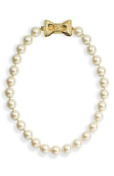 Pearls + Gold....