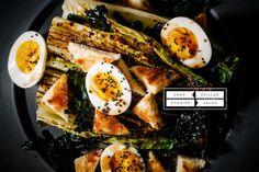 Char Grilled Romaine Salad / I am a Food Blog
