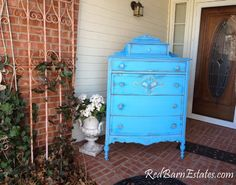 CUSTOM DRESSER Order Your Own Highboy - Layaway Avail - The Shabby Chic Furniture Painted Distressed Antique Furniture Shabby Dresser