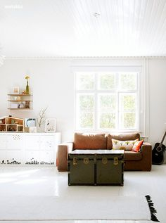 white walls and floor - desire to inspire - desiretoinspire.net - TGIF!