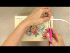 I ❤ ribbon embroidery . . . Ribbon embroidery is a fun needlecraft with a classy look. In this video from Annie's Creative Woman Kit-of-the-Month Club, you'll learn several ribbon embroidery techniques used in the Enchanting Bouquet Box kit.  Annie's Creative Woman Kit-of-the-Month Club sends members a different craft kit about every month. By becoming a member, you'll have the chance to try a variety of crafts without having to make trips to the craft store. ~By Anniescraftvideos