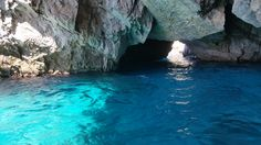 The Blue Grotto in C