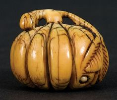 An Ivory Netsuke. 19th Century.… - Asian and Applied Arts - Webb's - Antiques Reporter