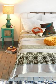 Magical Thinking Overprint Woven Blanket #urbanoutfitters #blanket