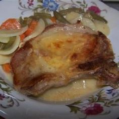 Scalloped Pork Chop Combo