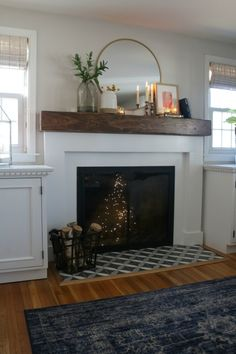 Fireplace Makeover-