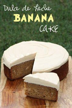 Brandy's Baking: Dulce de Leche Banana Cake