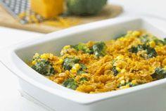 Cheddar Broccoli Corn Bake Casserole  with Kellogg's Corn Flakes®