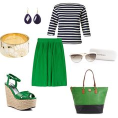 Gorgeous Green, created by wernerusc on Polyvore