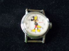 Vintage Antique Disney Mickey Mouse Watch 1948 by vintagecitypast, $150.00