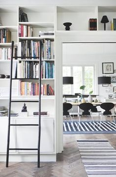 bookshelf ladder   danish mix